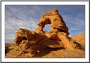 Sandstone Arch on top of Water Holes Canyon